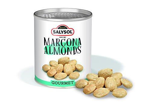 Frutos secos en lata Salysol Gourmet - Almendras Marconas 50 g (PACK 10 UNIDADES)