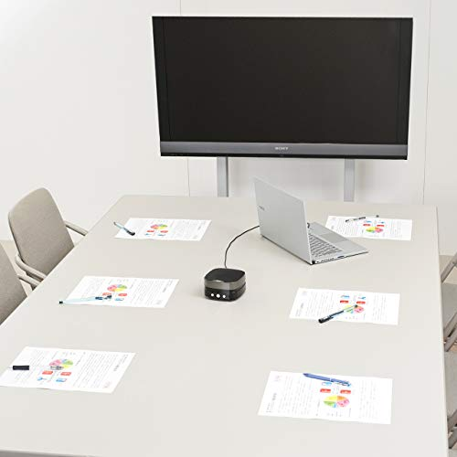 サンワサプライWEB会議小型スピーカーフォン有線USB接続Skype・Zoom・Teams対応MM-MC28