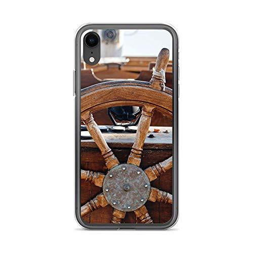 blitzversand Funda Boat Trip Relax compatible con Huawei G8 Mini remo, de madera, funda protectora transparente alrededor de protección de dibujos animados M9