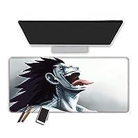 マウスパッド フェアリーテールアニメマウスパッドコンピューターゲームオフィスマウスパッド防水多機能キーボードパッド滑らかな表面Pcタブレットパッド拡張ゲームマウスパッド-60X30Cm