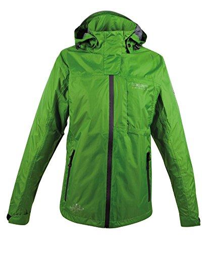 Deproc Active Damen Regenjacke Jacke, Grün, 40
