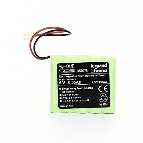 BTicino 3507/6 Spa Accumulatore 6 V 05Ah X 4070