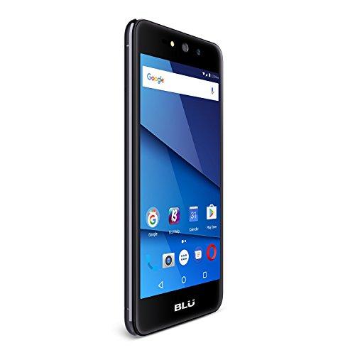 """BLU Grand XL - Unlocked Smartphone -5.5"""" Display, 8GB +1GB RAM -Black"""