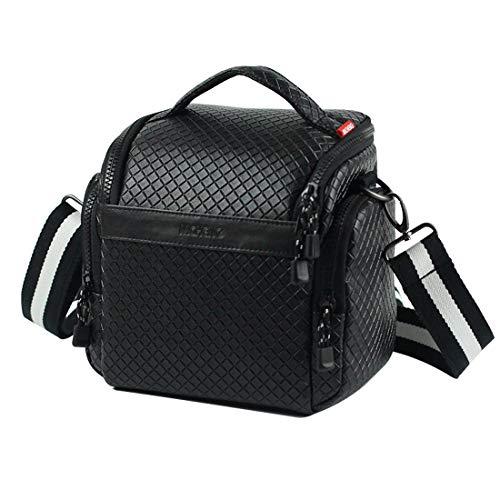 MCHENG Funda para cámara compacta Protectora para Sony, Canon, Panasonic, Olympus, Nikon y más Cámara, Color Negro