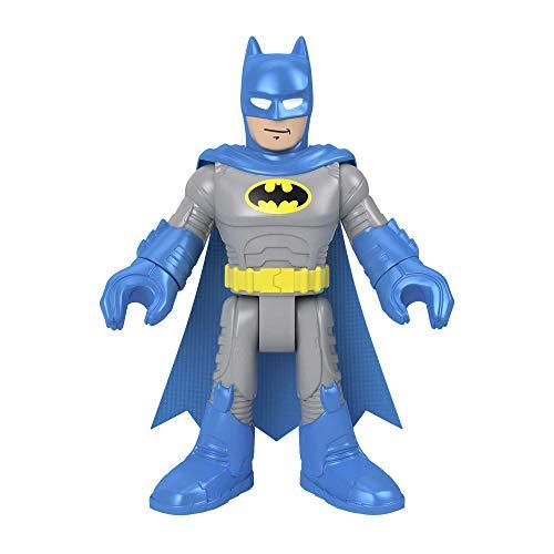 Imaginext DC Super Friends Batman XL, figura grande de acción articulada juguete niños y niñas + 3 años (Mattel GVW22)
