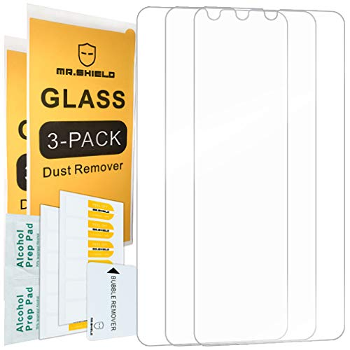 [3-PACK]-Mr.Shield For Huawei P30 [Tempered Glass] Screen Protector with Lifetime Replacement