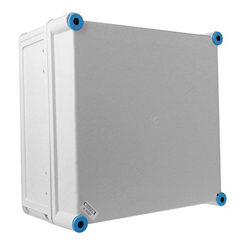 Preisvergleich Produktbild Leergehäuse mit graue Deckel Anschlussdose 300x300x170 IP65 Industriegehäuse Abzweigdose K0201 HENSEL 6547