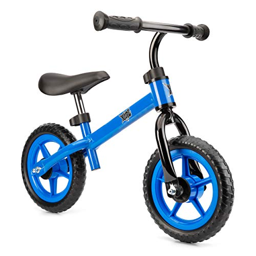 Xootz Balance Bike for Toddlers And Kids, Training Bicycle with Adjustable Seat And No Pedals, Blue