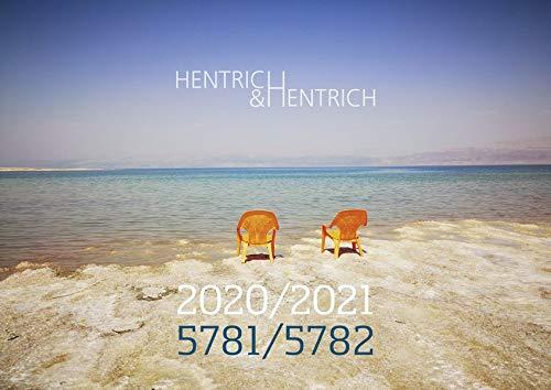 Hentrich & Hentrich Kalender 2020/2021 | 5781/5782: 16-Monatskalender mit jüdischen und gesetzlichen Feiertagen