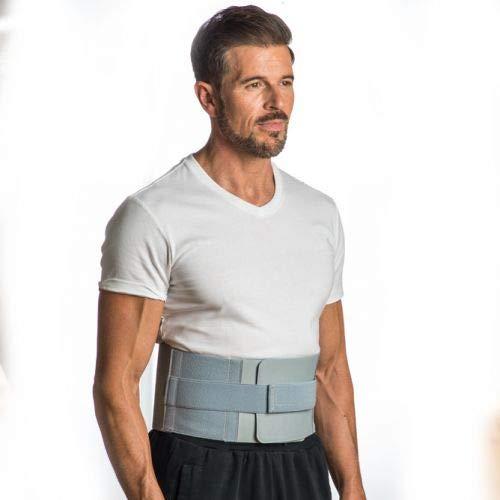 BACK - Cinturón para la espalda - Apoyo lumbar con almohadillas de frío -...