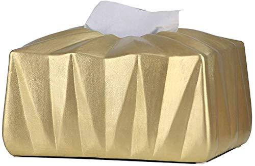 Caja de servilletas origami minimalista moderna decoración de escritorio para el hogar adornos tridimensionales bandeja de papel caja de pañuelos 22x15.3x12.8cm caja de pañuelos