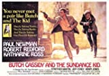 Filmplakat Butch Cassidy and the Sundance Kid, riesiges