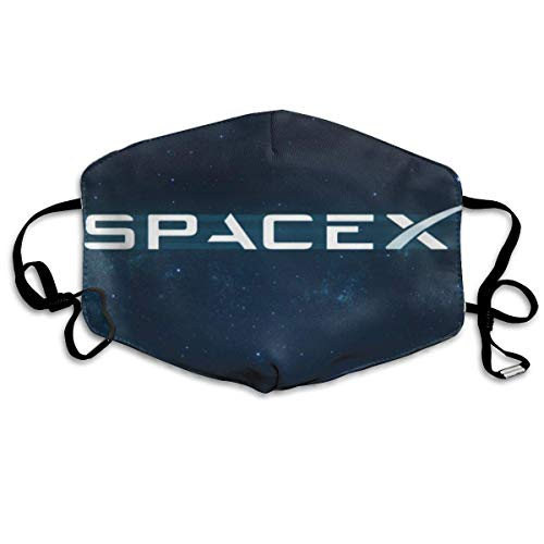 Modieus Halloween-masker Space X oormasker verstelbaar stofmasker pollenmasker