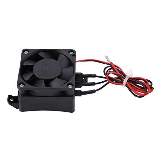 Calentador de aire con calefacción eléctrica de la temperatura constante del ventilador del circulador para el calentador, humidificador, automóvil (12V / 24V 300W / 400W)(12V, 300W)