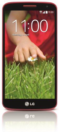 LG G2 mini Smartphone (4,7 Zoll (11,9 cm) Touch-Bildschirm, 8 GB Speicher, Android 4.4) rot