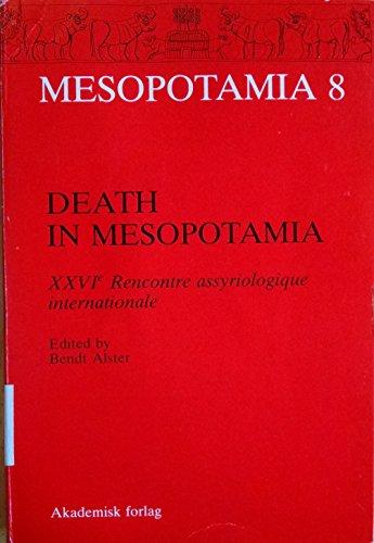 Death in Mesopotamia