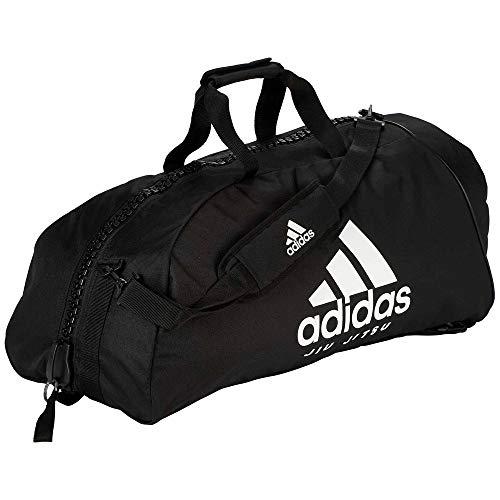 adidas Sporttasche Jiu-Jitsu Black/White Nylon, Gr. L
