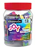 Classmate Neon Erasers   Phthalate-free   Non-toxic Child Safe Erasers   Available in 5 attractive neon Colours