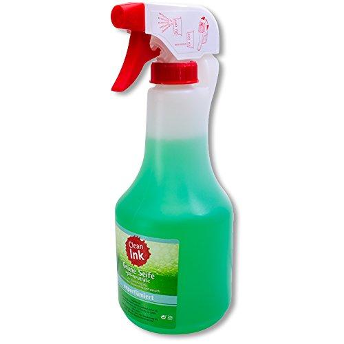 Green Soap Sprühflasche CLEAN INK 500 ml Flüssigseife - parfümfrei