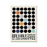 Bauhaus abstrakte geometrische Grafik Kunstdruck modernes