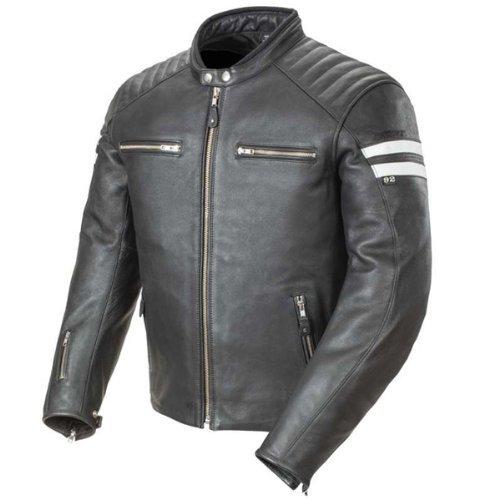 Joe Rocket 1326-1003 Classic '92 Men's Leather Motorcycle Jacket