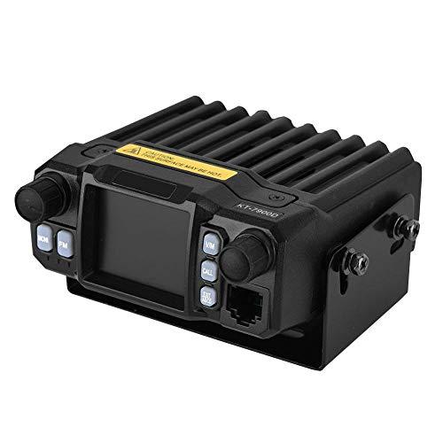 Mini Radio móvil de Banda Dual UHF/VHF Radio bidireccional Transceptor móvil Radio Aficionado, 136-174MHz/400-480MHz Transceptor CB de 200 Canales para automóvil, Distancia de comunicación de 5-50 km