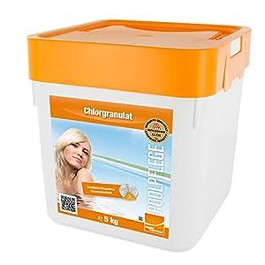 Steinbach Poolchemie Chlorgranulat, 5 kg, Desinfektion, 0751205TD02