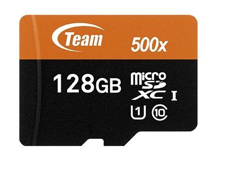 Team microSD/SDHC/SDXCカード 国内正規 10年保証 (128GB SDXC, UHS-1 Class10 Read: 80MB/sec; Write: 20M...