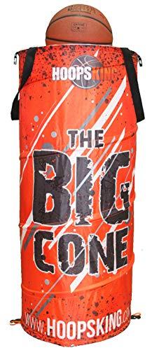 HoopsKing Big Cone Sports Training Cone (Orange)