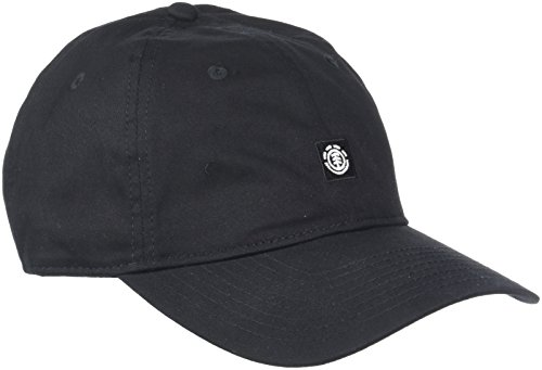 Element FLUKY Dad Cap - Gorra, All Black, One Size