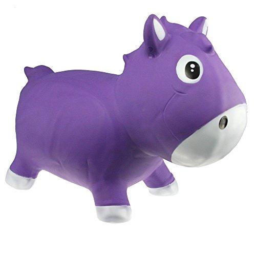 KidzzFarm Harry el caballito, Púrpura (KFPO130206)