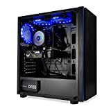 Mak Office P Plus – Ordenador de sobremesa Gaming i7 10700 8 Core 4,80 GHz Turbo, SSD NVMe 1000 GB + HDD 1000 GB, GTX 1650 4 GB, RAM 16 GB, CD-DVD