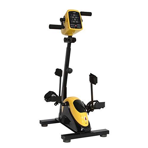 NACHEN Ejercitador de Pedales Mini Bicicleta eléctrica portátil de rehabilitación, Terapia física para Brazos y piernas, Bicicleta de Ejercicio para discapacitados
