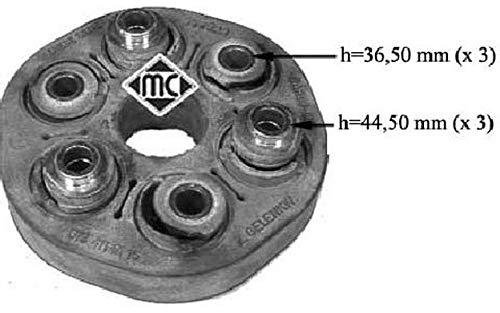 METALCAUCHO 03578 K/ühlmittelflansch