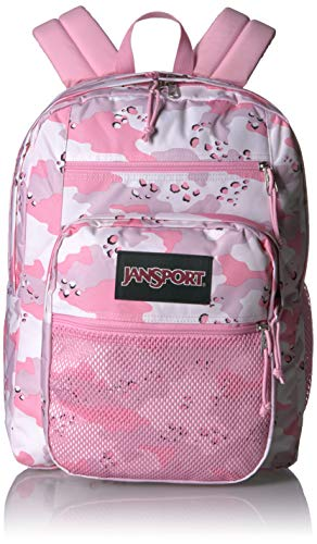 Jansport Big Campus Backpack - Lightweight 15-inch Laptop Bag, Camo Crush