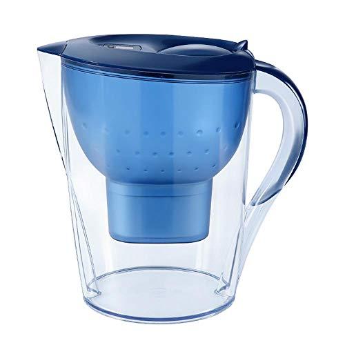 Scariche e cartucce per il filtro dell'acqua, 3,5l Water Jug Filter Smart Timing, Transparent Filtration System Applicable Water Temperature 4-38 s per la cucina A