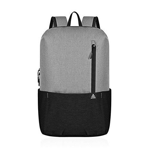 Hunt Power Anmeilu New Outdoor Men Women Kid Casual Backpack Sports Bag Waterproof Bag Light Travel Bag Leisure School Bag 12 Colors ,Gray-Black,10L