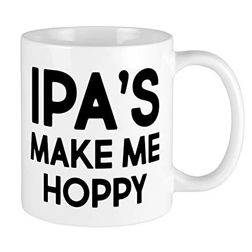 CafePress IPA's Make Me Hoppy Unique Coffee Mug, Coffee Cup