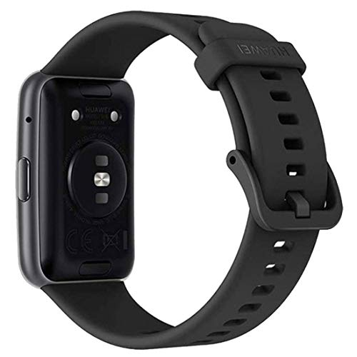 """HUAWEI Watch FIT - Smartwatch con Cuerpo de Metal, Pantalla AMOLED de 1,64"""", hasta 10 días de batería, 96 Modos de Entrenamiento, GPS Incorporado, 5ATM, Color Negro miniatura"""