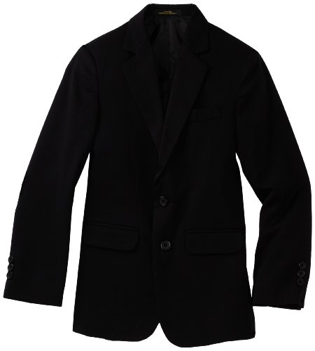 Izod boys Solid Blazer Jacket, Black, 14H