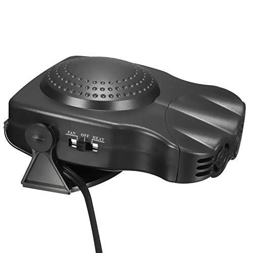 Autoverwarming, draagbare winter, autoverwarming, 2-in-1, auto, van verwarming, defroster, koeler, ventilator, 12 volt, 150 watt, winter raam demister (Style1) Style1