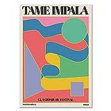 Poster von Impala gezähmt in Glastonbury, Vintage