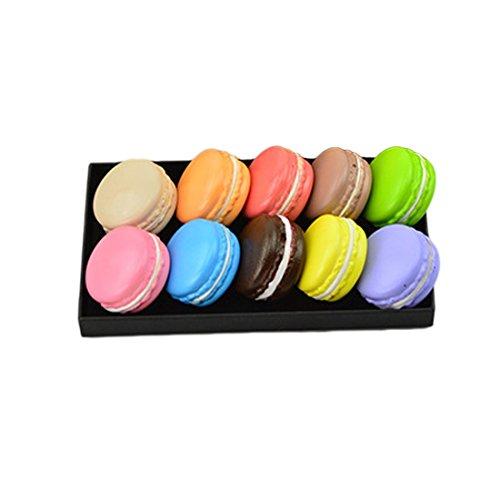 weiche Dessert Macaron Squishy Cute Home Decor Charms DIY Schlüssel Tr?ger zuf?llige Farbe