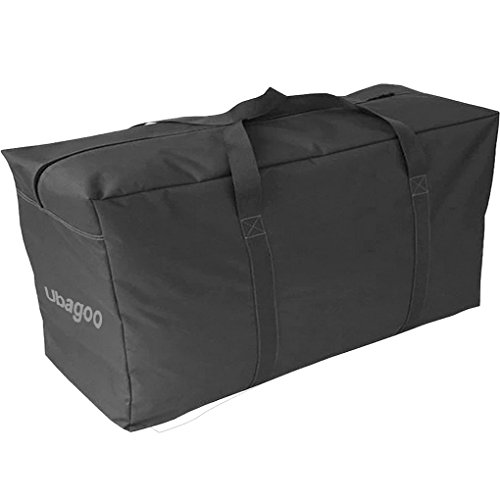 Ubagoo 180L Super Extra Large Strong Storage Bag Waterproof Sturdy 600D Oxford Material Organizer Bags Ideal For Bedding, Duvets, Pillows, Clothes or Moving home