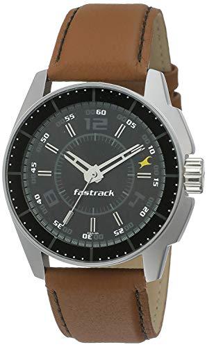 Fastrack Black Magic Analog Black Dial Men's Watch -NK3089SL05