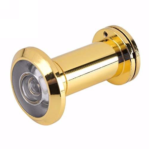 Mirilla de puerta 200 grados de ángulo de visión amplio Mirilla Puerta de seguridad espectadores 14mm agujero oculto mirilla ajustable Hardware Herramientas lente de cristal Para puertas de hotel de o