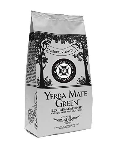 ohne Stängel | Brasilianischer Mate-Tee 400g | Starkes, Natürliches Aroma | Natürlicher, köstlicher Geschmack von Mate Tee aus Brasilien | Stark anregender Mate