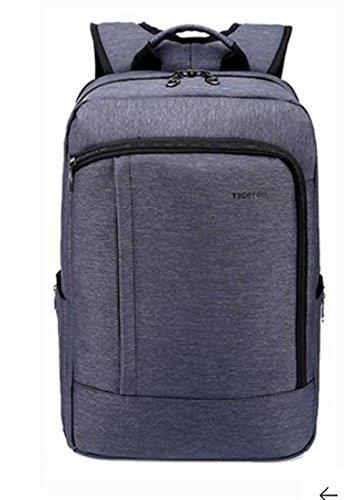 Tigernu di zaino scuola 43,2cm portatile impermeabile resistente anti-furto zip Business zaino black-grey
