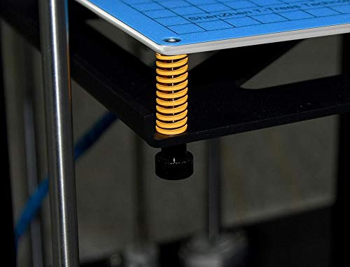 XIAOWU-LUN, 4 / 10pcs 3D impresora primavera for climatizada cama MK3 semillero Imported Longitud 25 mm 5 mm ID OD de 10 mm for impresora Ender 3 CR-10 CR-10S 3D ( Color : Yellow , Size : 10 P