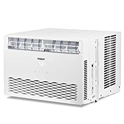 Image of TOSOT 12,000 BTU Window Air Conditioner - Energy Star, Modern Design, and Temperature-Sensing Remote - Window AC for Bedroom, Living Room, and attics up to 550 sq. ft.: Bestviewsreviews